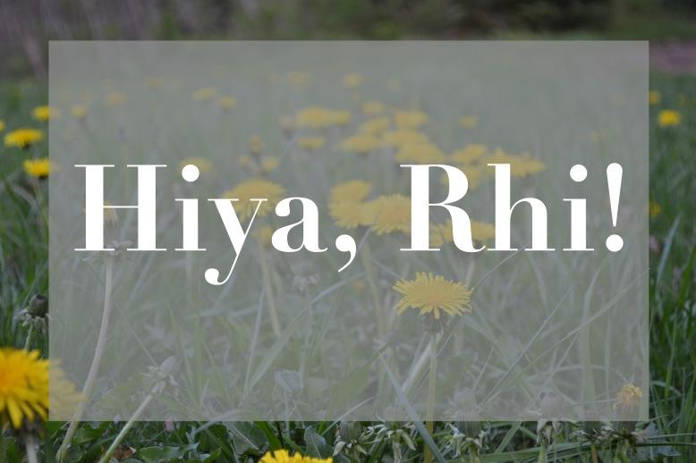 Hiya Rhi